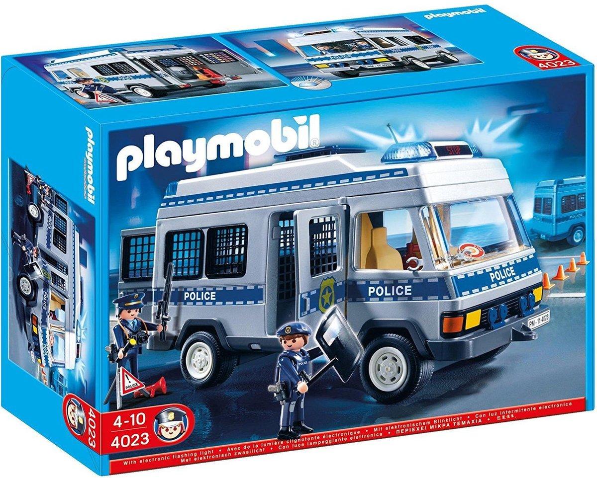 Playmobil Politie Mobiele Eenheid Wagen - 4022