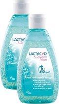 Lactacyd Oxygen Fresh Int Wash - 2x 200ml - intieme hygiëne - Intiemverzorging