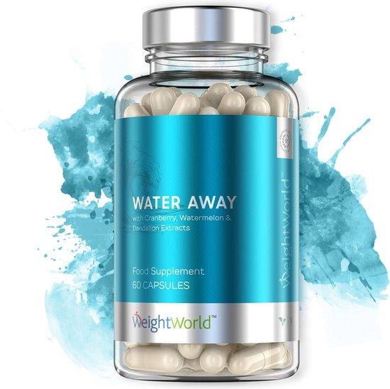 WeightWorld Natuurlijke Vochtafdrijver Water Away - 60 Capsules