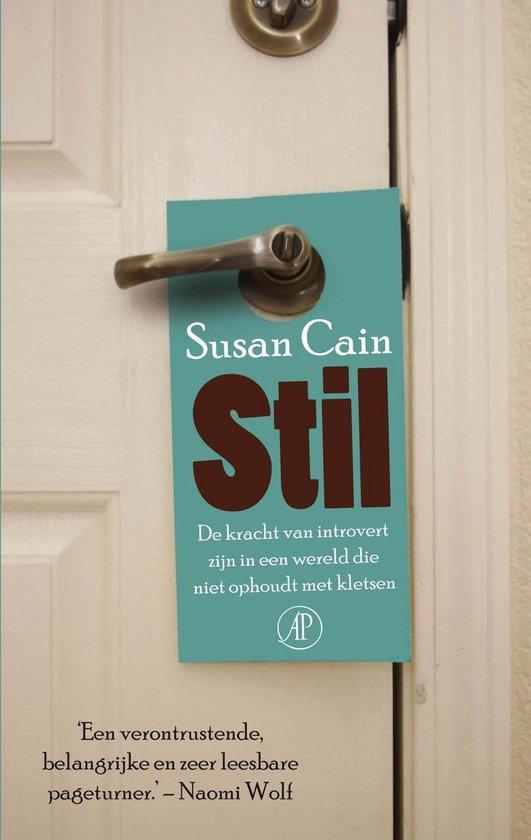 Boek cover Stil van Susan Cain