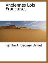 Anciennes Lois Francaises