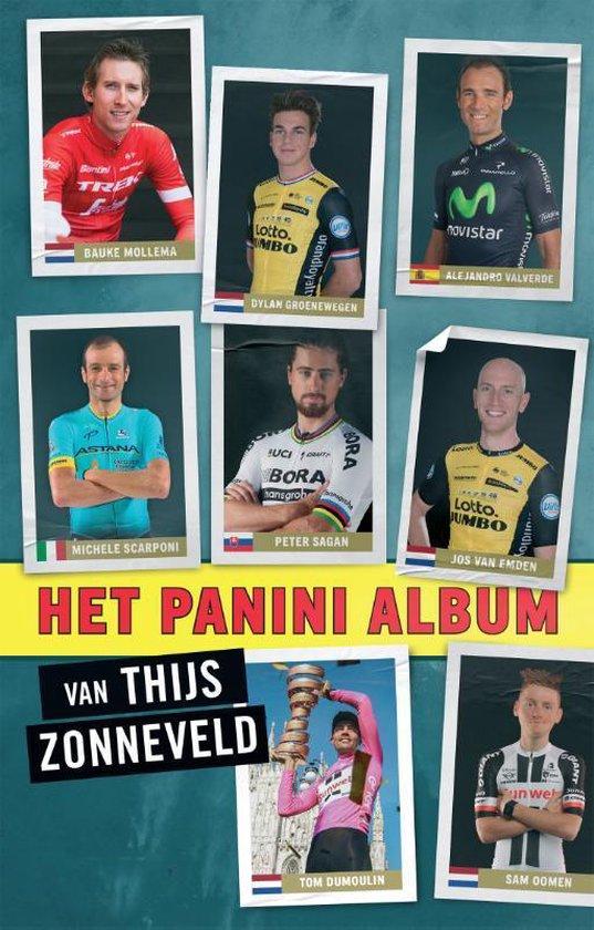 Boek cover Het Panini album van Thijs Zonneveld (Paperback)