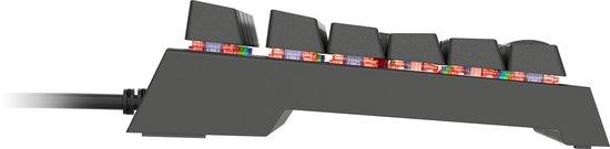 GENESIS NKG-1237 toetsenbord USB QWERTY Engels Zwart - Genesis