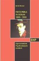 Fritz Perls in Berlin 1893-1933