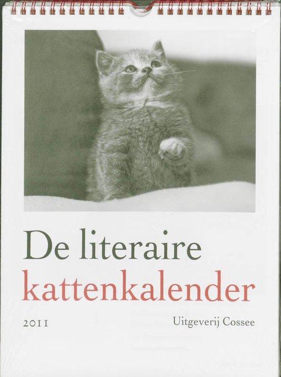 Cover van het boek 'De literaire kattenkalender / 2011'