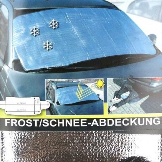 Auto Voorruit Hoes - Sneeuwhoes - Vorsthoes - Anti vries - Vrieshoes - Voorruitfolie