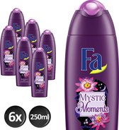 Fa Mystic Moments Shea Butter&Passion Flower Douchegel - 6x 250 ml - Voordeelverpakking