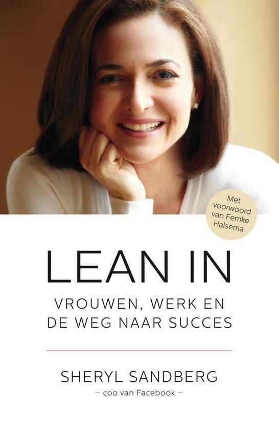 Boek cover Lean in van Sheryl Sandberg (Onbekend)