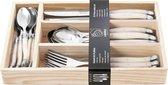 Laguiole Style de Vie Bestekset Premium Line - 24-delig - Parelmoer