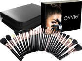 Evvie Professionele  Deluxe Visagie Make-up Kwasten - Kwastenset - 29 stuks