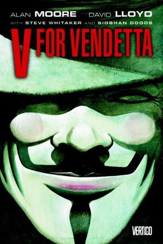 Boek cover V for Vendetta van A. Moore (Onbekend)