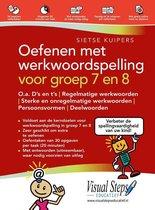 Boek cover Oefenen met werkwoordspelling voor groep 7 en 8 van Sietse Kuipers (Paperback)
