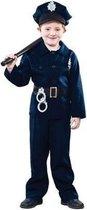 Politie pak kind jongen