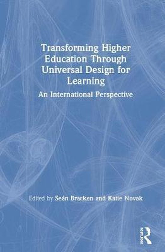 Boek cover Transforming Higher Education Through Universal Design for Learning van  (Hardcover)