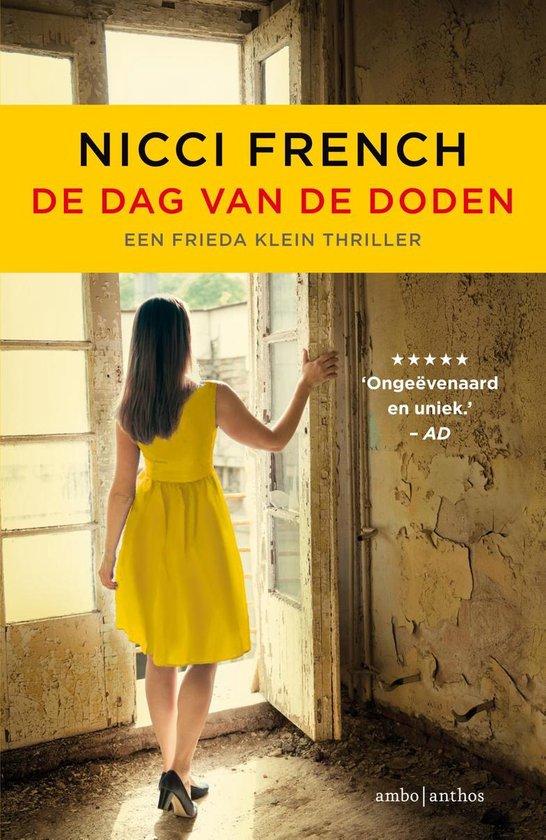 Boek cover Frieda Klein 8 - De dag van de doden van Nicci French (Paperback)