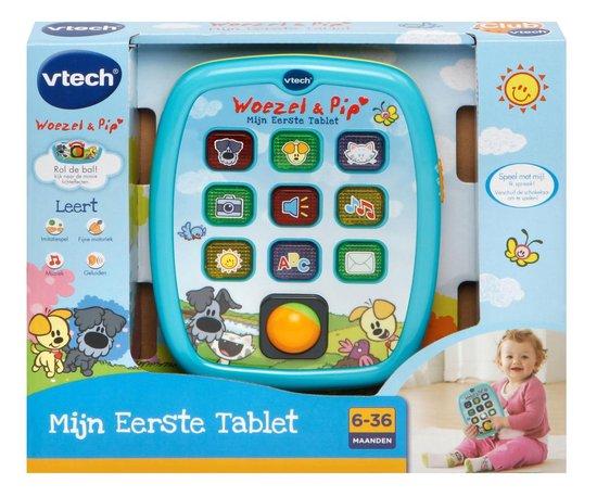 VTech Baby Woezel & Pip - Mijn Eerste Tablet - Interactief Speelgoed - Educatief Babyspeelgoed