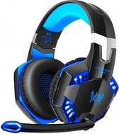 KOTION EACH G2000 Gaming Headset - Zwart/Blauw