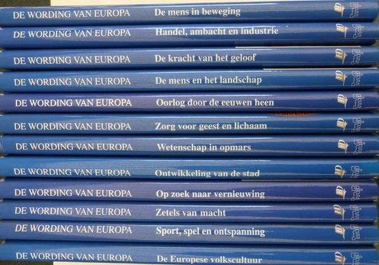 Wording van europa 12 dln. cpl. - Blockmans |