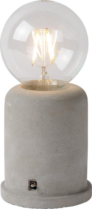 Lucide MABLE - Tafellamp - Ø 10 cm - E27 - Taupe