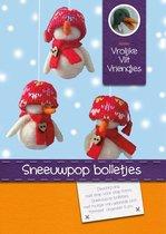DIY pakket: Sneeuwpop bolletjes