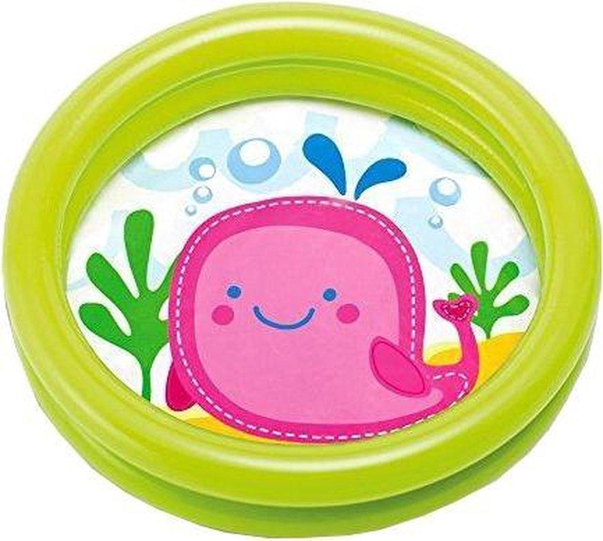 Intex Opblaasbaar Babybadje Groen 61 Cm X 15 Cm