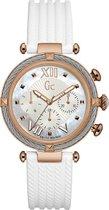 Gc Watches - Y16004L1 - Horloges - Dames -  RVS - Wit -  38 mm