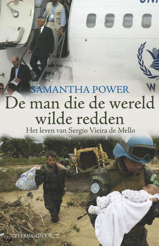 Cover van het boek 'De man die de wereld wilde redden' van Samantha Power