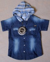 Merkloos Jongens Overhemd 128