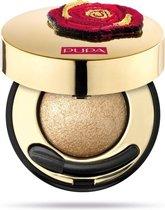 Pupa milano Rock&rose 3D eyeshadow - 001 Audacious Gold