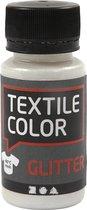 Textile Color, transparant, glitter, 50 ml