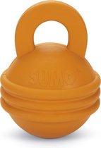 Beeztees Sumo Play Kettlebell - Hondenspeelgoed - Oranje - 16 x 12 x 12 cm
