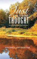 Boek cover Just Give It Some Thought van Patricia Ann Lightner