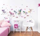 Walltastic - Muursticker Set M - Magical Unicorn - 71 stickers