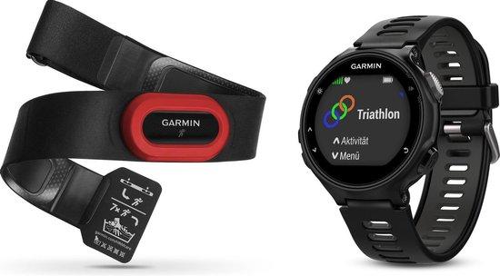 Garmin Forerunner 735XT Run bundel - Zwart/grijs