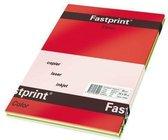 Gekleurd Papier A4 80gr FP 5 Felle Kleuren