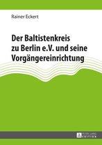 Der Baltistenkreis zu Berlin e.V. und seine Vorgängereinrichtung