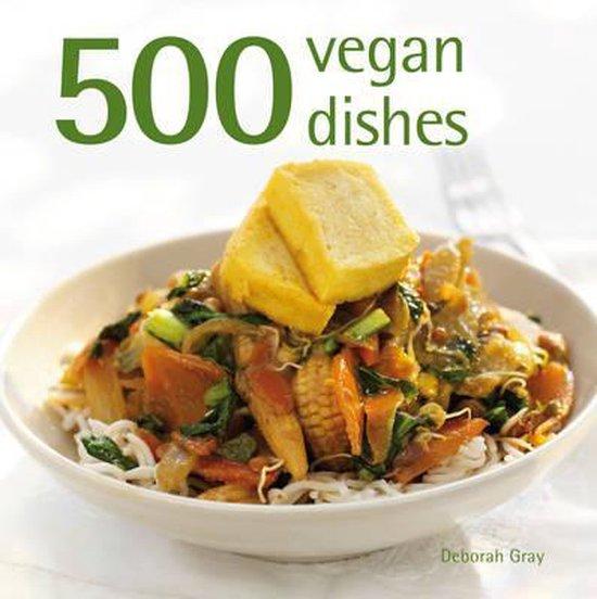 Boek cover 500 Vegan Dishes van Deborah Gray (Hardcover)