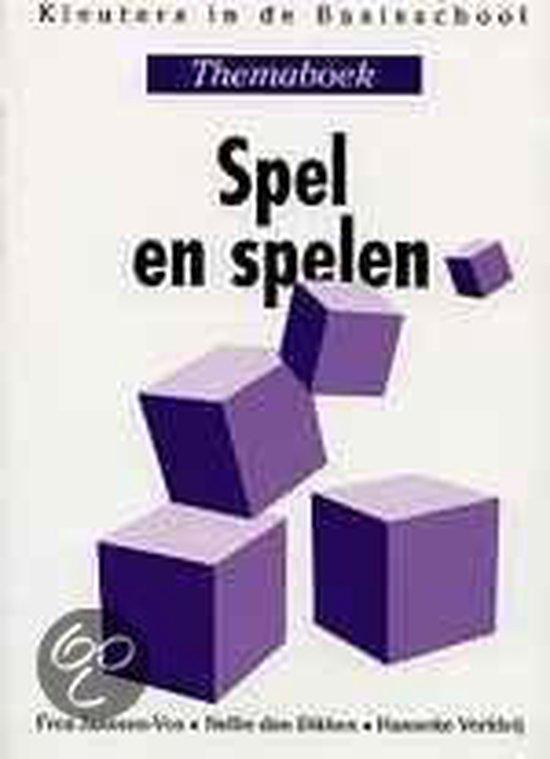 Boek cover Spel en spelen van Frea Janssen-Vos (Paperback)