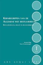 Boek cover Ars Aequi Handboeken  -   Kernbegrippen van de Algemene Wet Bestuursrecht van Taco Groenewegen (Paperback)