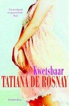 Omslag Kwetsbaar Tatiana de Rosnay