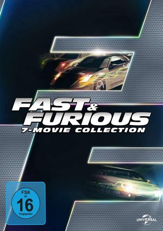 Fast & Furious - 7 Movie Collection (Duitse Import)
