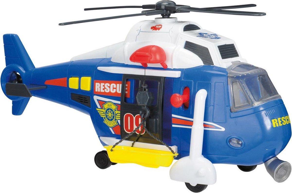 Dickie Action Series Reddingshelikopter 41cm - Speelgoedvoertuig