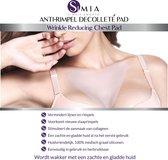 Simia™ Anti Rimpel Beauty Pad - Decolleté - Herbruikbaar anti aging siliconen pad tegen lijntjes en slaaprimpels