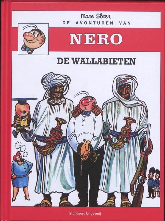 Cover van het boek 'Nero (hardcover) 11 De wallabieten'