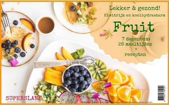 SuperslankBox Fruit - 28 maaltijden