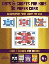 Construction Paper Crafts for Kids (Arts and Crafts for kids - 3D Paper Cars)