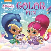 Nickelodeon Kleurboek Shimmer And Shine Color Fun 22 Cm