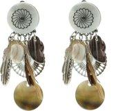 Clip oorbel Feather