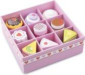 New Classic Toys - Speelgoedeten en -drinken - Cake/Gebak Assortiment in Geschenkdoos