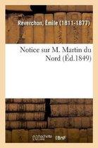Notice sur M. Martin du Nord
